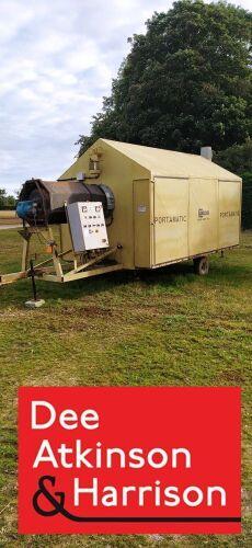 Wilder Portamatic 5 Tonne Mobile Grain Dryer