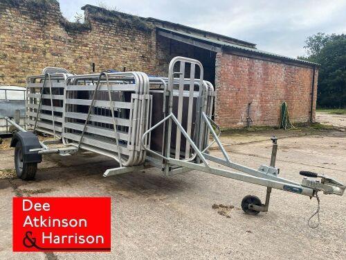 Alligator Mobile Sheep Race & Handling System